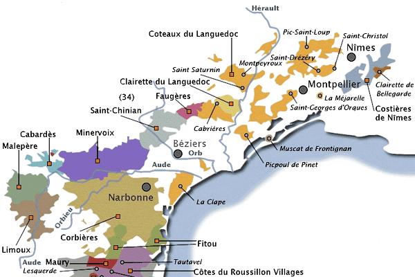 Wijngebieden Languedoc Frankrijk Wijnalbum
