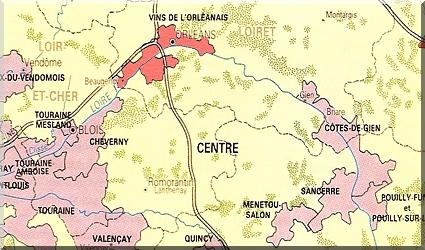 Wijngebied Orleans Loire Frankrijk Wijnalbum